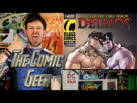 Tales Of The Taro Demon: Deimos #2 - Gay Class Comics Comic Book Review