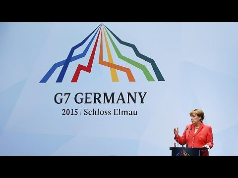G7 leaders discuss Ukraine, climate change and the threat from radical extremism at Germany summit