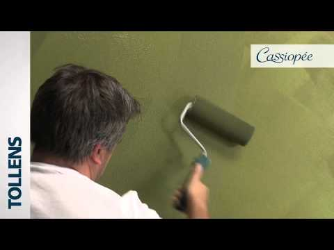 tollens cassiopee peinture d corative youtube. Black Bedroom Furniture Sets. Home Design Ideas