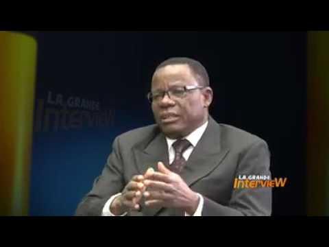 Pr Maurice Kamto La Grande Interview sur canal2 international