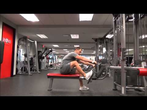 Seated Wide Grip Cable Row