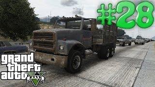 Grand Theft Auto 5 Gameplay Walkthrough Part 28 - Dump truck drivers SUCK!