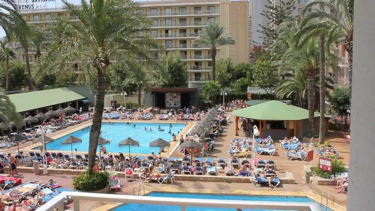 Hotel servigroup pueblo benidorm hotel 3 estrellas playa for Hoteles con habitaciones familiares en benidorm