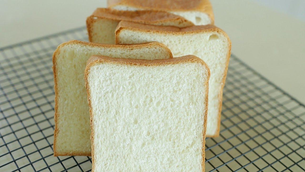 Homemade sandwich bread recipe you need most / how to make sandwich bread홈메이드 샌드위치식빵 레시피/풀먼식빵 만들기
