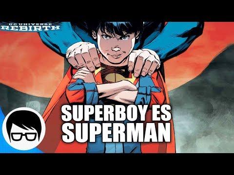 SUPERBOY SE CONVIERTE EN SUPERMAN POR 1 DÍA | Superman Rebirth #26 | COMIC NARRADO