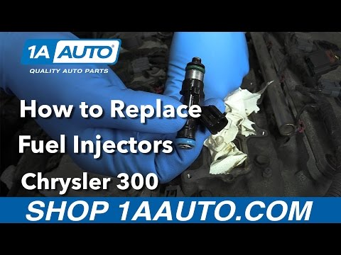 How to Replace Fuel Injectors 05-10 Chrysler 300