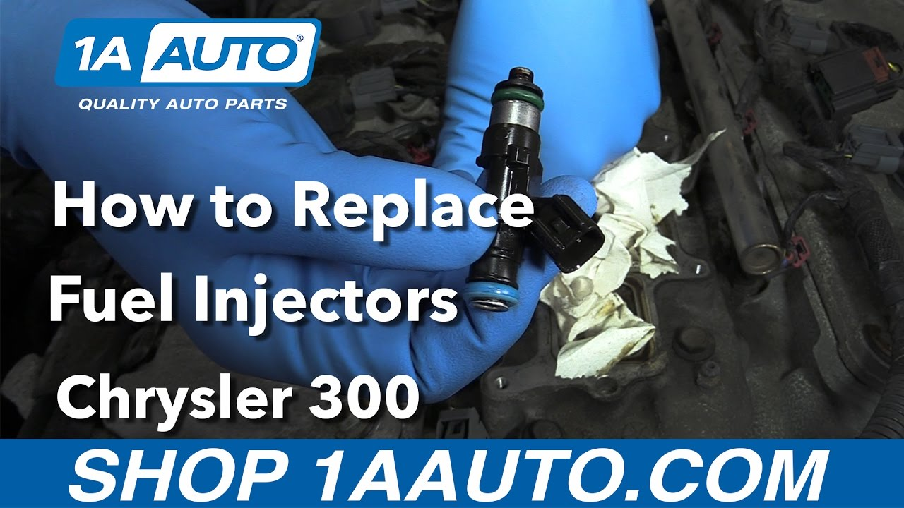 how to replace install fuel injectors 2006 chrysler 300 [ 1280 x 720 Pixel ]