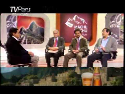 Mesa Redonda dirigida por Ernesto Hermoza : Historia del Tahuantinsuyu