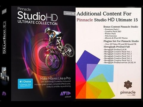 Pinnacle studio 15 hd ultimate collection cheap price
