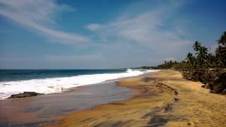 Пляж Самудра. Ковалам. Керала.