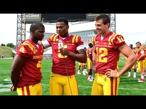 Iowa State Football Media Day with Jacques Washington & Channel 10 News