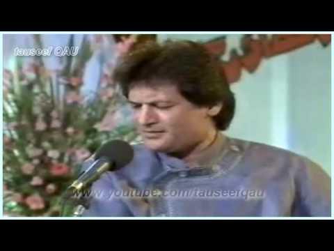 Asad Amanat Ali Khan - Saara shehar paraaya saa (PTV Live )