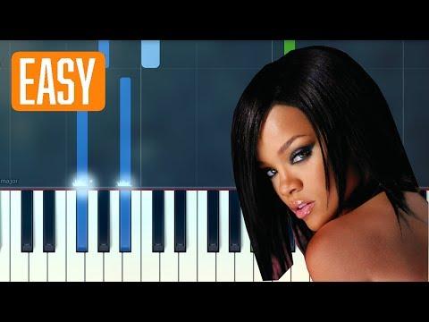 Rihanna - Umbrella 100% EASY PIANO TUTORIAL