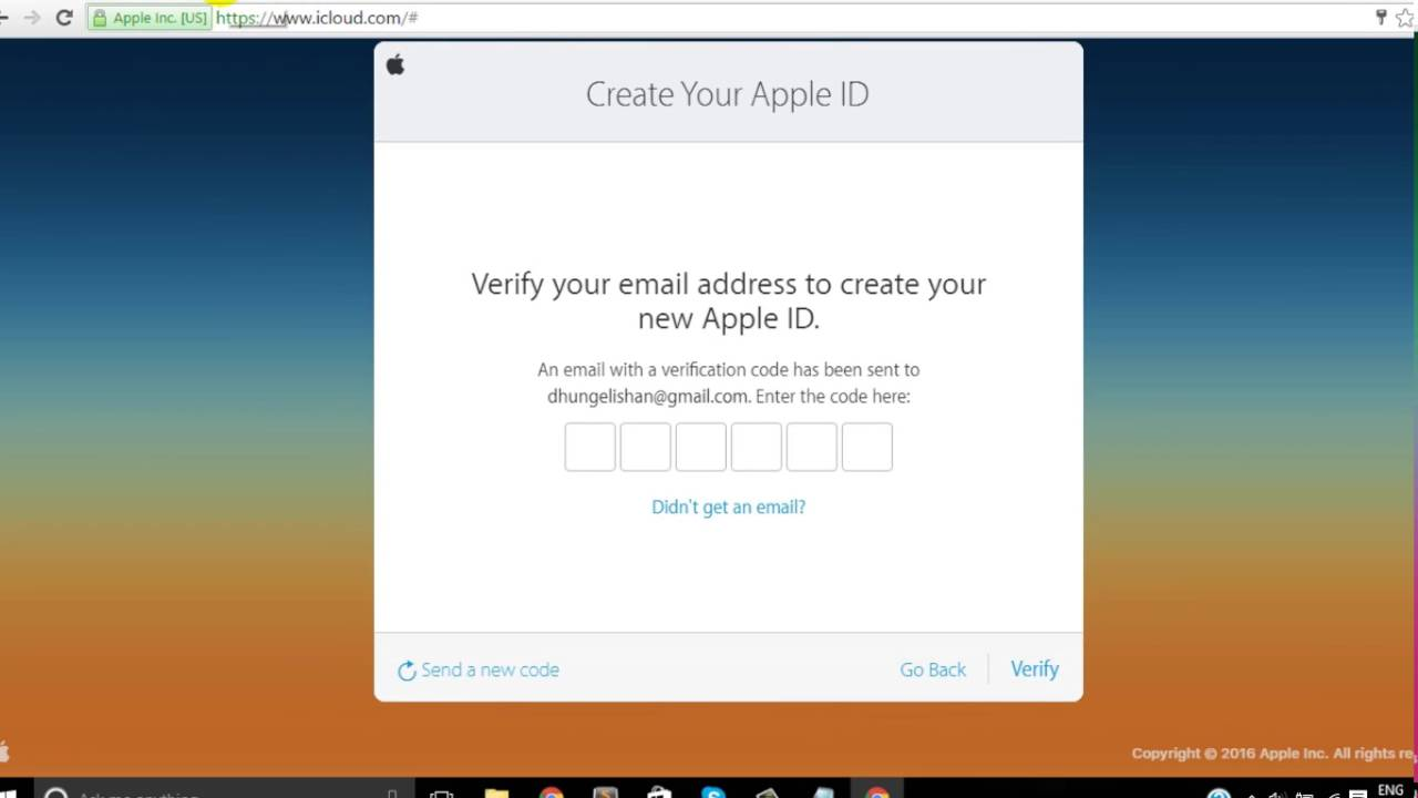 Create Free Apple Id Us Create or use an Apple ID without a