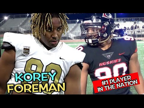 Korey Foreman - #1 Player In the Nation | 6'5 270 | Junior Year Highlight Mix 🔥🔥