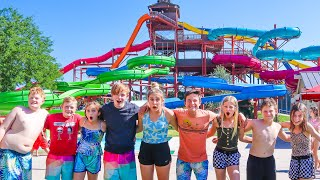 The WATERPARK waterSLIDE CHALLENGE w/ The Shumway Show