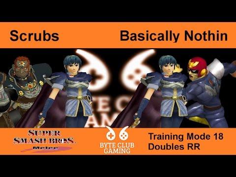 BCG (TM18) | Scrubs Vs. Basically Nothin SSBM Doubles- Round Robin