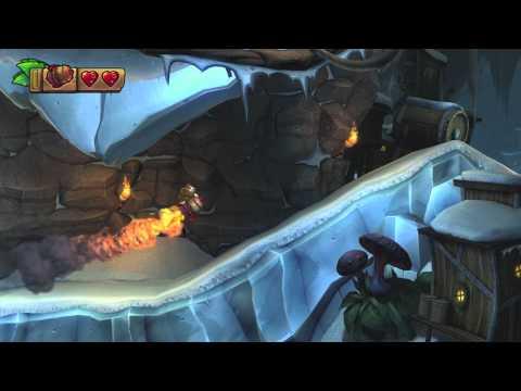 Donkey Kong Country: TF. Destrucción a reacción 6-4 - Gameplay - 100% puzzles y letras