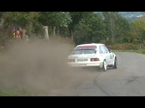 Rally Comarca da Ulloa 2015 [HD] | Grille- Corzón Ford Sierra RS Coswort | Maximum Attack & Drift