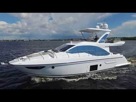2019 Azimut 50 Flybridge Yacht For Sale at MarineMax Fort Myers