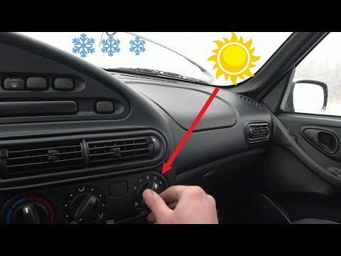 Как не замёрзнуть в автомобиле?! Замена вентилятора в автомобиле Нива шевроле!