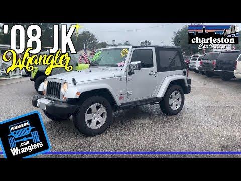 Here's a 2008 Jeep Wrangler Sahara JK   For Sale Review - Charleston, SC