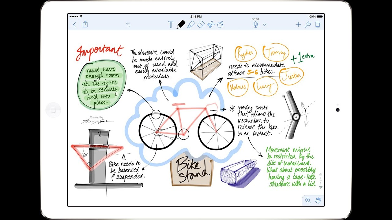 Bullet Journal Best Note Taking App For Your Ipad Notability Youtube