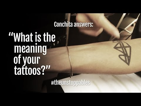 #ConchitaAnswers #8: What is the meaning of your tattoos?
