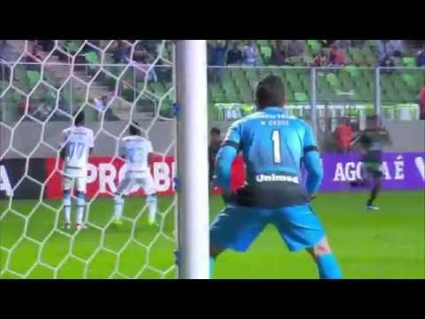 América MG 0 x 0 Grêmio - Melhores Momentos - Campeonato Brasileiro 2016 31/07/2016