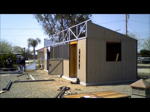 Ring O Steel Horse Barn Installation Time Lapse Video