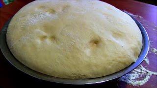 Дрожжевое тесто на кислом молоке для пирогов,пирожков,булочек Yeast dough on sour milk
