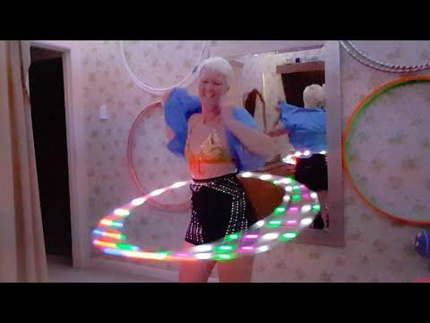 Hot In Herre - Sexy Striptease/Hula Hoop Dance By Joy Donaldson