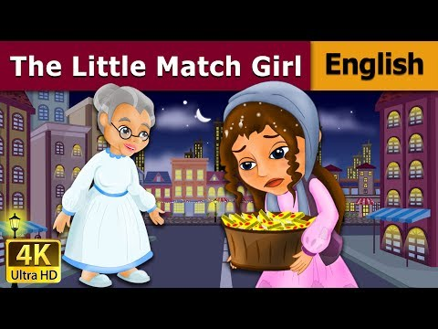 The Little Match Girl in English - Fairy Tales - Bedtime Stories - 4K UHD - English Fairy Tales