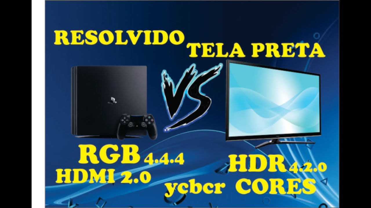 Ps4 rgb or ycbcr