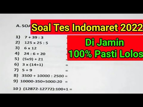 tes-indomaret-(matematika-dasar,soal-cerita,deret-angka)