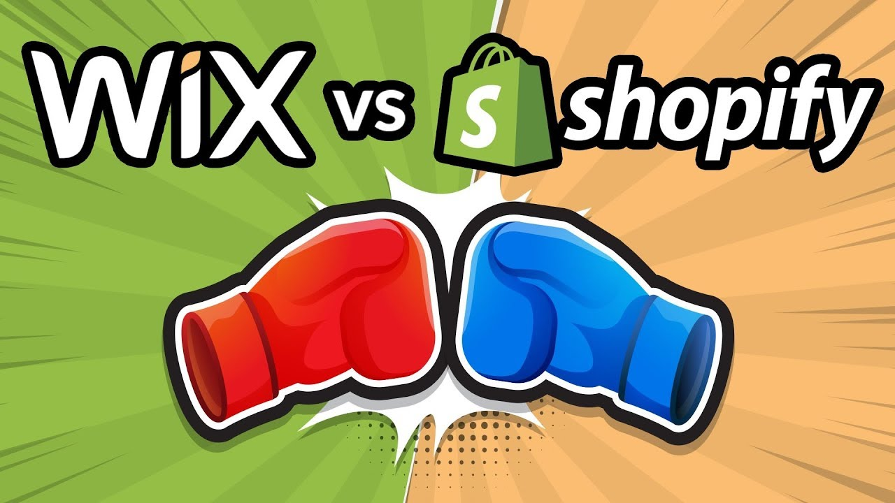 wix vs shopify 2018  which is the best online store