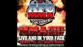 AFC MMA: John Lewis vs Jeremy Deskins (3/8/2014)
