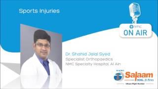 Sports Injuries [Tamil] - Dr. Shahid - Radio Salaam