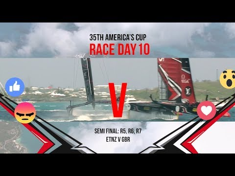 35th America's Cup: Race Day 10 Favourite Moments