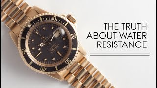 The Truth About Water Resistance | RANT&H