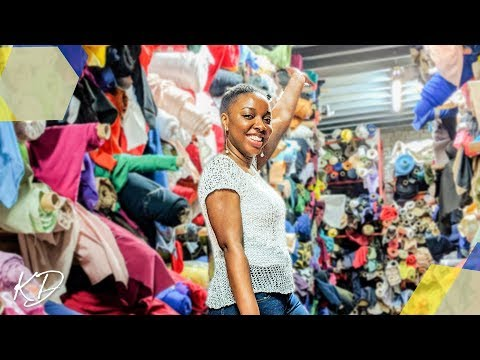 THE ULTIMATE GUIDE TO THE BIGGEST FABRIC SHOP IN LONDON | KIM DAVE