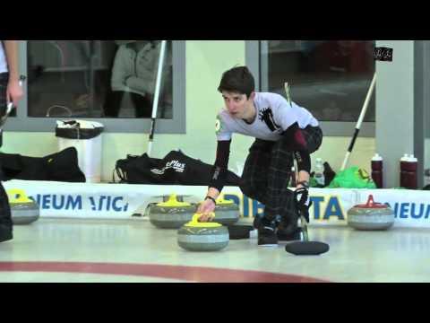 """Curling """"European Junior Curling Tour"""" 21 12 2014"""