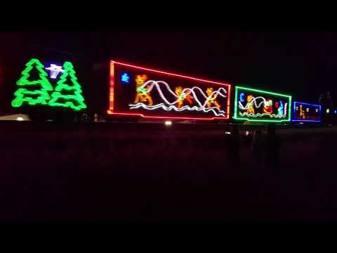Canadian Pacific Holiday Train 2017 Waterloo, Indiana