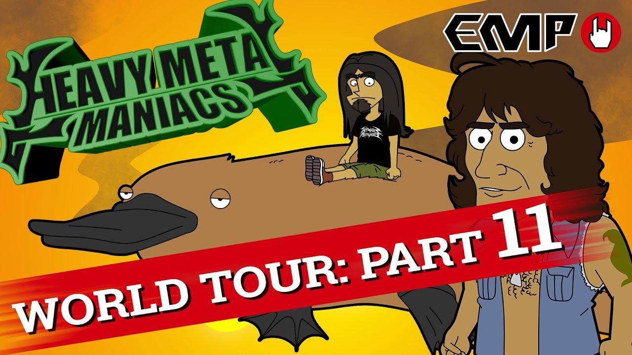 Heavy Metal Maniacs: World Tour! Part 11
