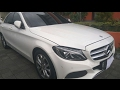 Mercedes-Benz C200 Avantgarde [W205] Start Up & Review Indonesia