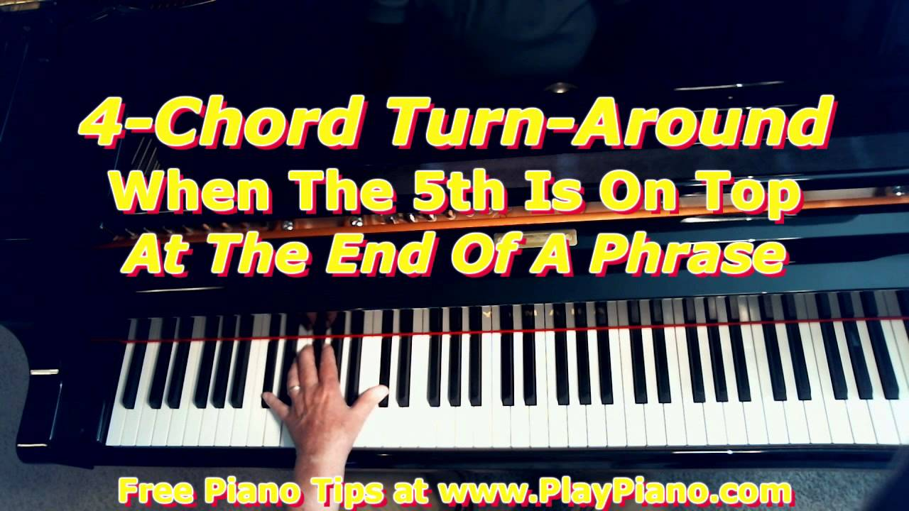 4 chord musical turnarounds for piano youtube hexwebz Images