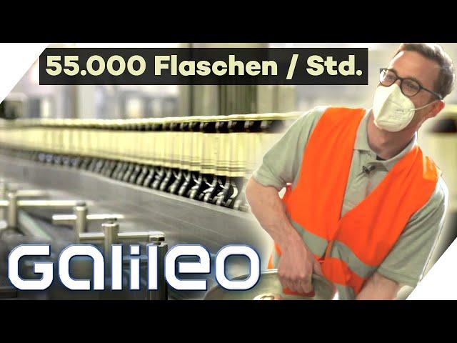 200 Mio Liter Bier im Jahr: Ist das noch Handwerk oder reine Fließbandarbeit? | Galileo | ProSieben
