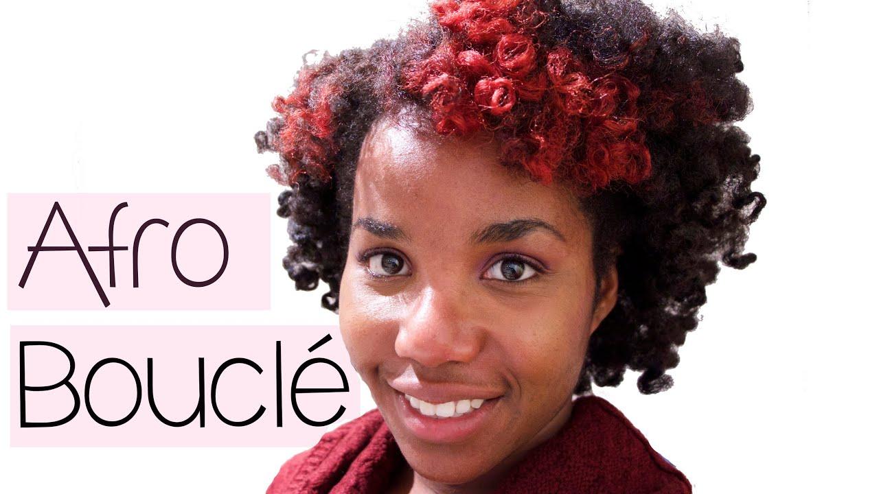 Célèbre Twist-out/Afro bouclé sur cheveux crépus (curly afro) - YouTube ST66