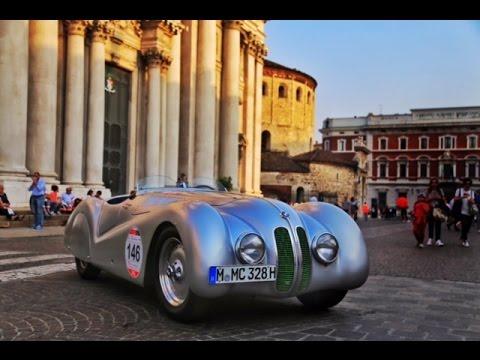 1940 BMW 328 at 2015 Mille Miglia - YouTube