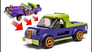 LEGO Batman MOVIE 70906 Alternative Build JOKER'S Pick UP